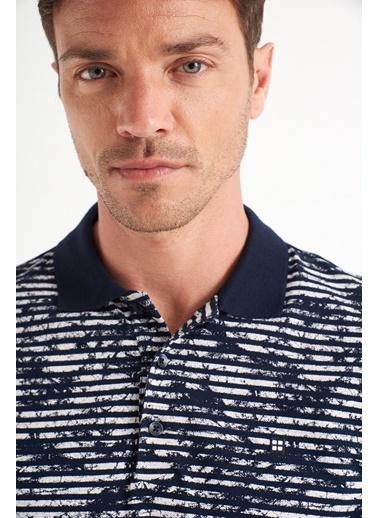 Avva Erkek  Polo Tişört A01Y1129 Lacivert